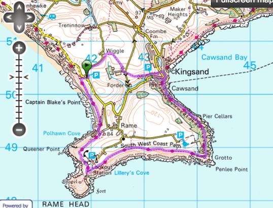 Coastal Path - Penlee Point