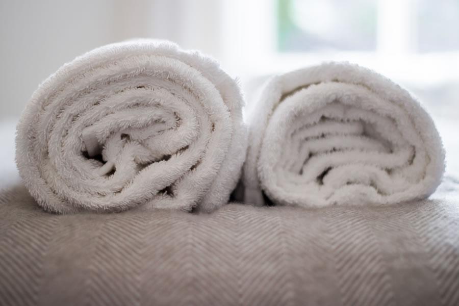 Fluffy towels | Blue Monkey Cornwall