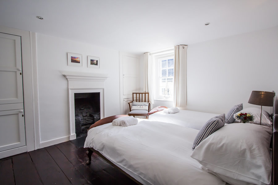 Our bedrooms are light and airy | Blue Monkey Cornwall