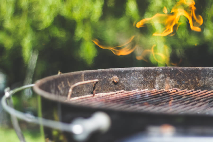 Family BBQs in our garden area | Blue Monkey Cornwall