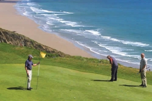 Golf by the beach | Bluemonkey Cornwall