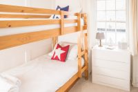Double bunk beds for the kids to sleep in | Blue Monkey Cornwall